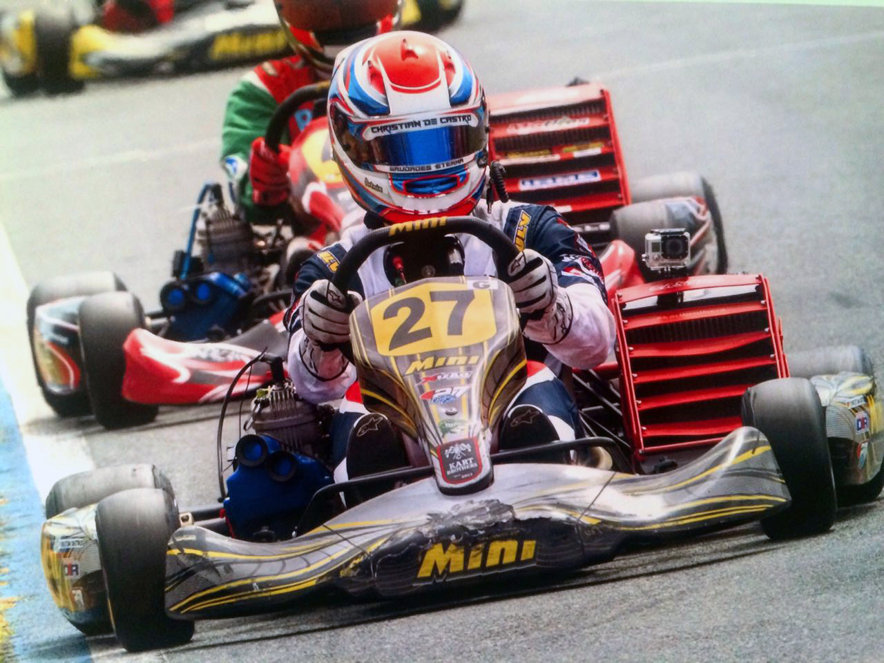 Kart: Christian Castro disputa a abertura do Light e faz sua estreia no Kartódromo de Interlagos