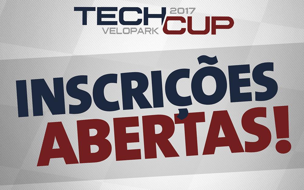 Tech Cup   Velopark abriu suas inscrições nesta quinta-feira. Competição chega com várias novidades