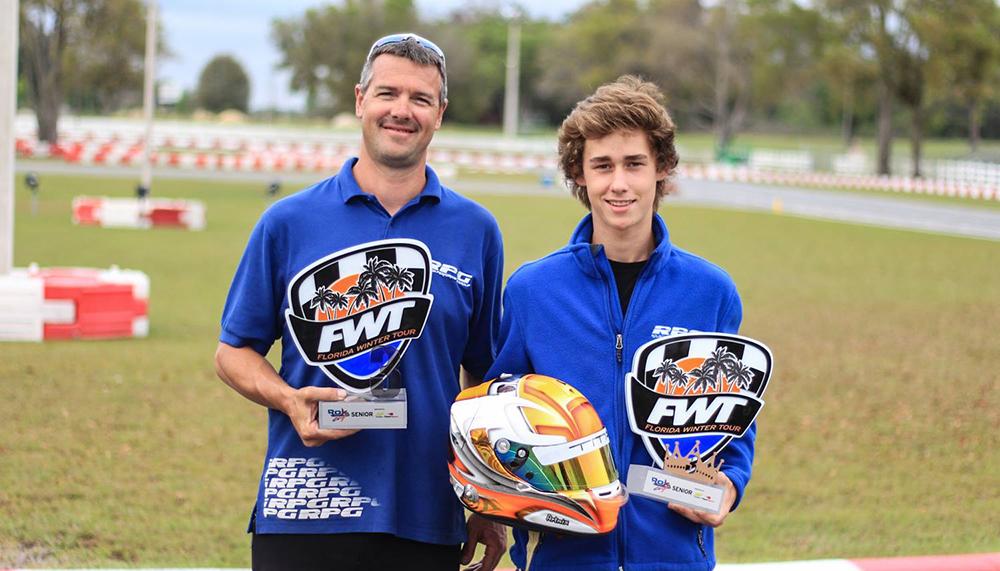 Arthur Leist fechou Florida Winter Tour em 3º lugar em sua estreia na categoria ROK Sênior
