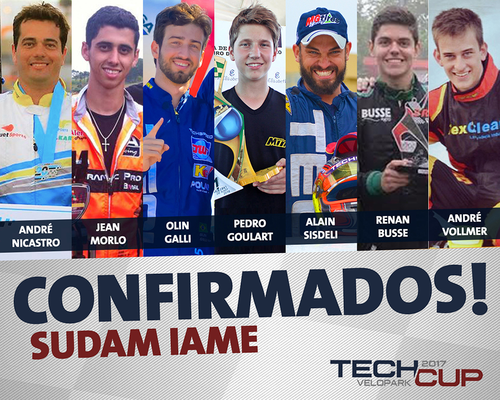 Sudam IAME terá grandes nomes do kartismo brasileiro na abertura da Tech Cup   Velopark
