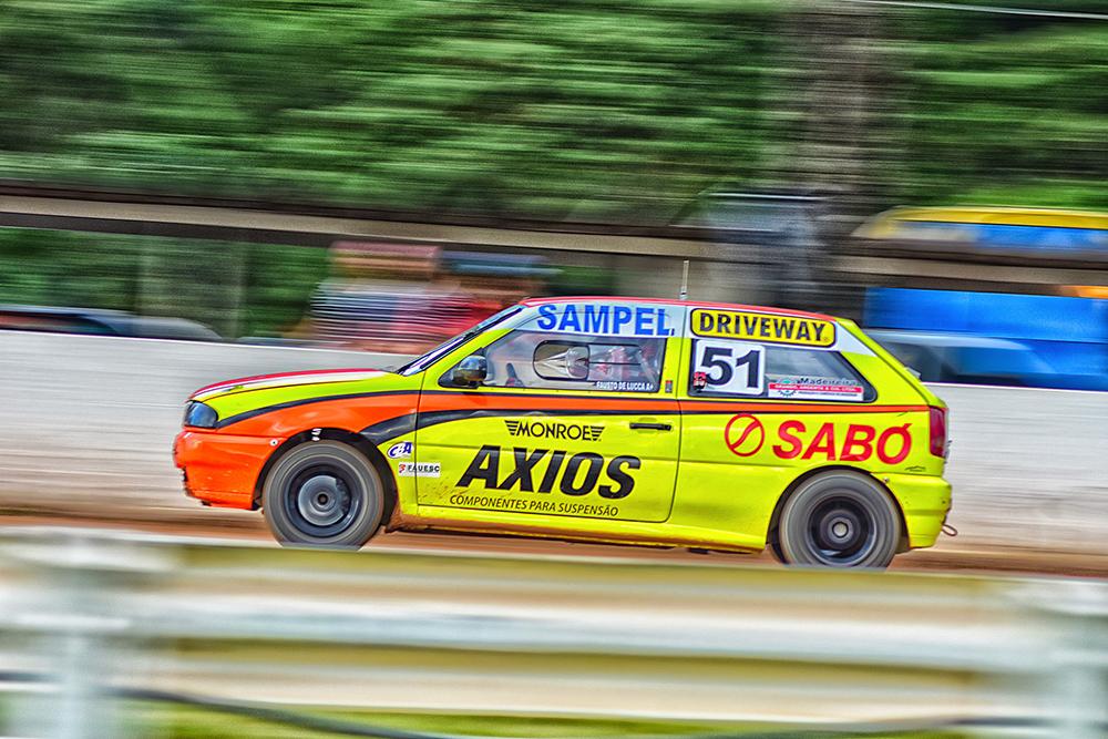 Fausto De Lucca supera adversidades e vai ao pódio na abertura do Catarinense de Automobilismo