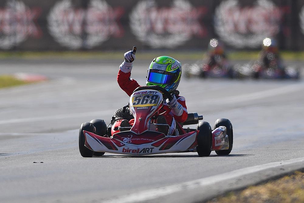 Rafael Câmara vence 4ª etapa do WSK Super Master Series na Itália