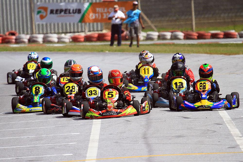 Mineiro de Kart recebeu 58 pilotos na segunda rodada