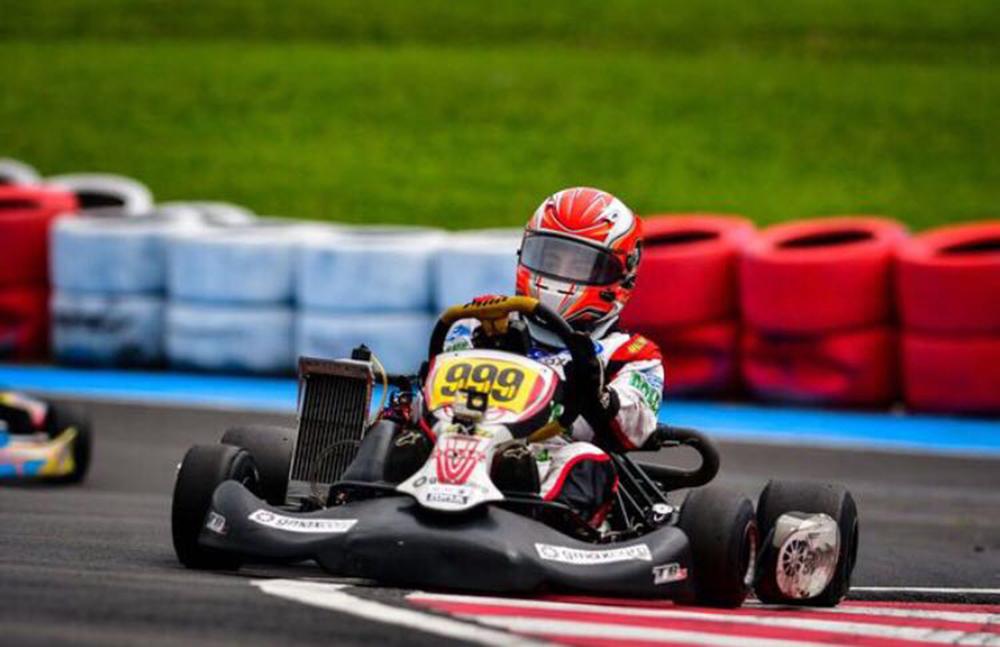Guilherme Peixoto correu na Granja Viana e conquistou dois pódios em sua estreia na Rotax Max