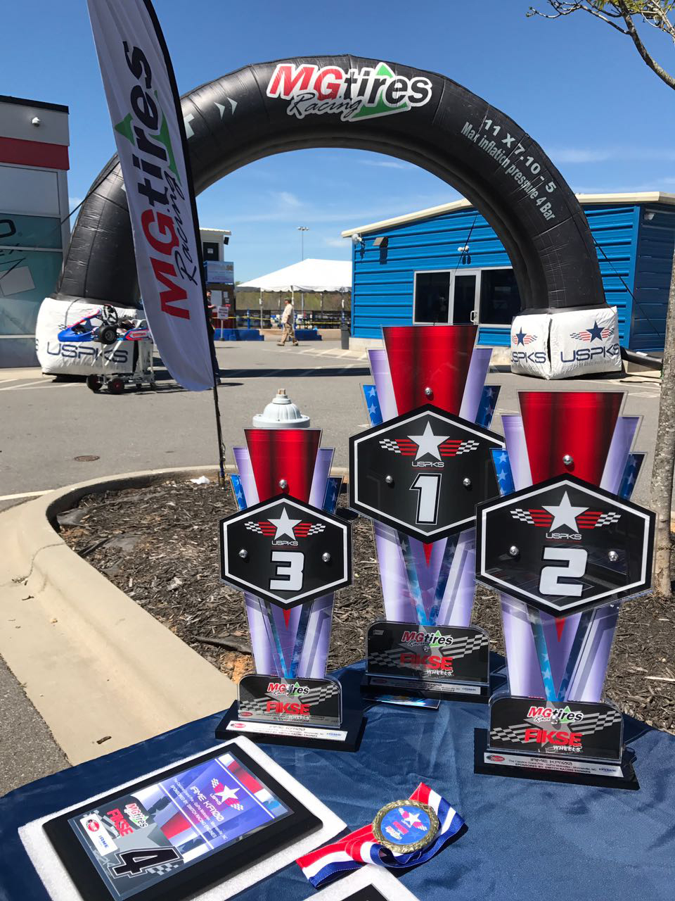 MG Tires renovou parceria com o USPKS e fornece pneus pelo terceiro ano consecutivo