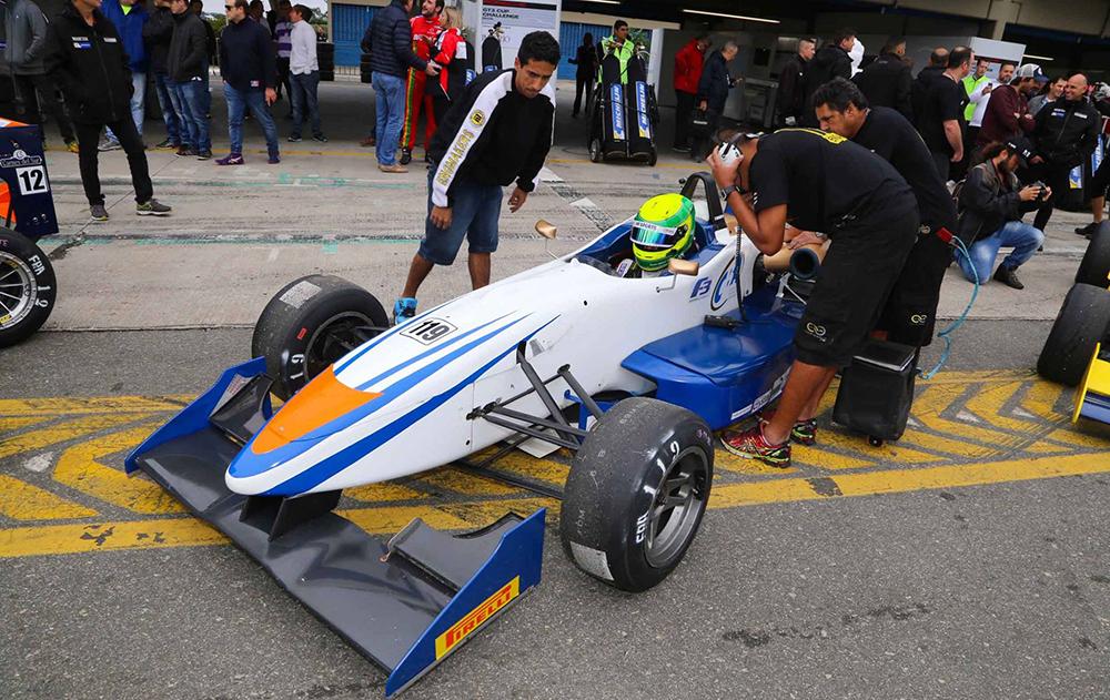 Pedro Goulart se afasta do kart para focar em sua primeira temporada na Fórmula 3