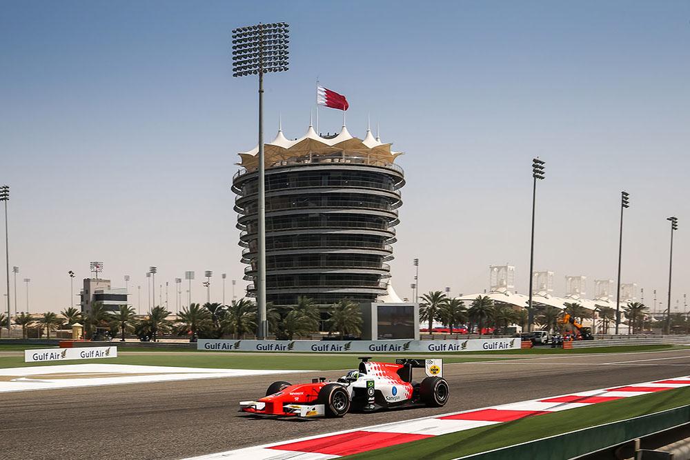 Sette Câmara sai do Bahrein com a volta mais rápida da F2