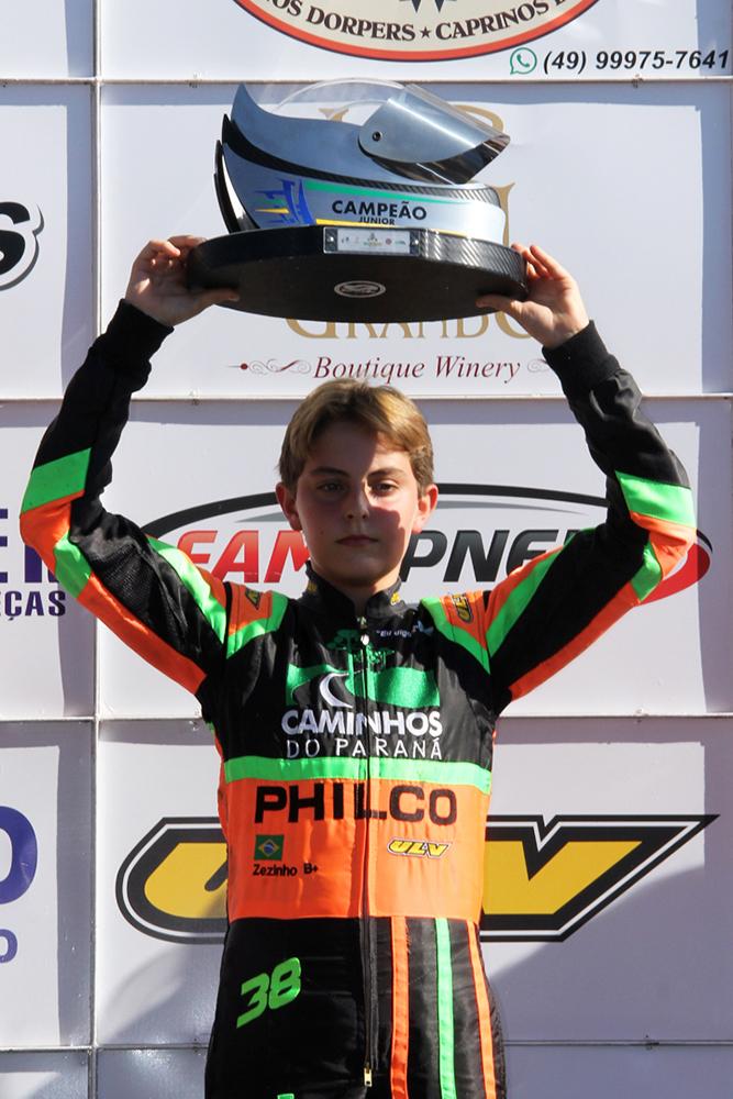 José Muggiati Neto conquista seu 4º título e é um dos maiores vencedores do Sul-Brasileiro