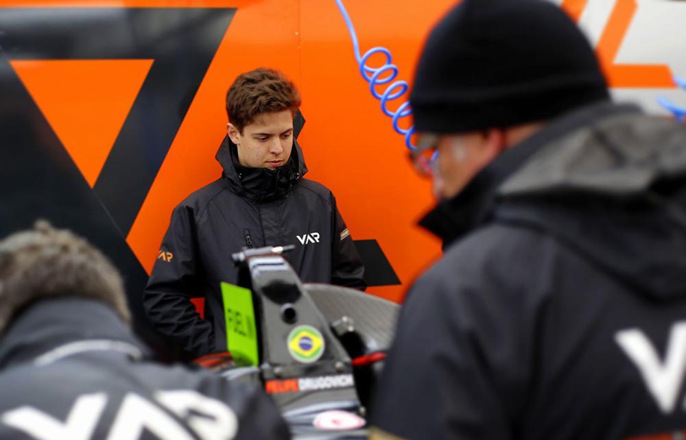 Felipe Drugovich chega otimista para a abertura da F4 Alemã após liderar testes de pré-temporada