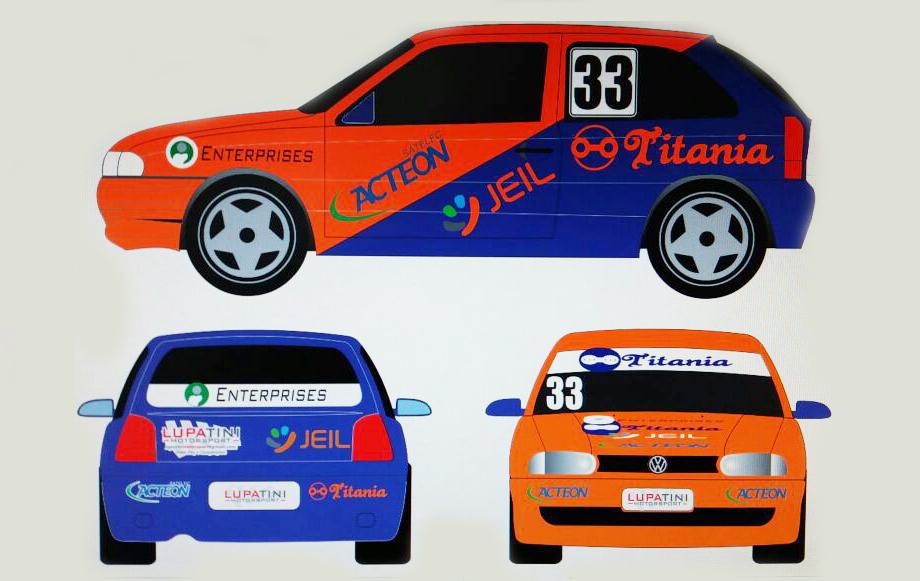 Equipe Lupatini Motorsport estreia carros no AIC