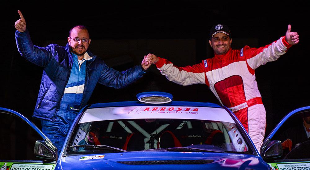 Tiago Larrossa parte para a maior prova de rally do Brasil