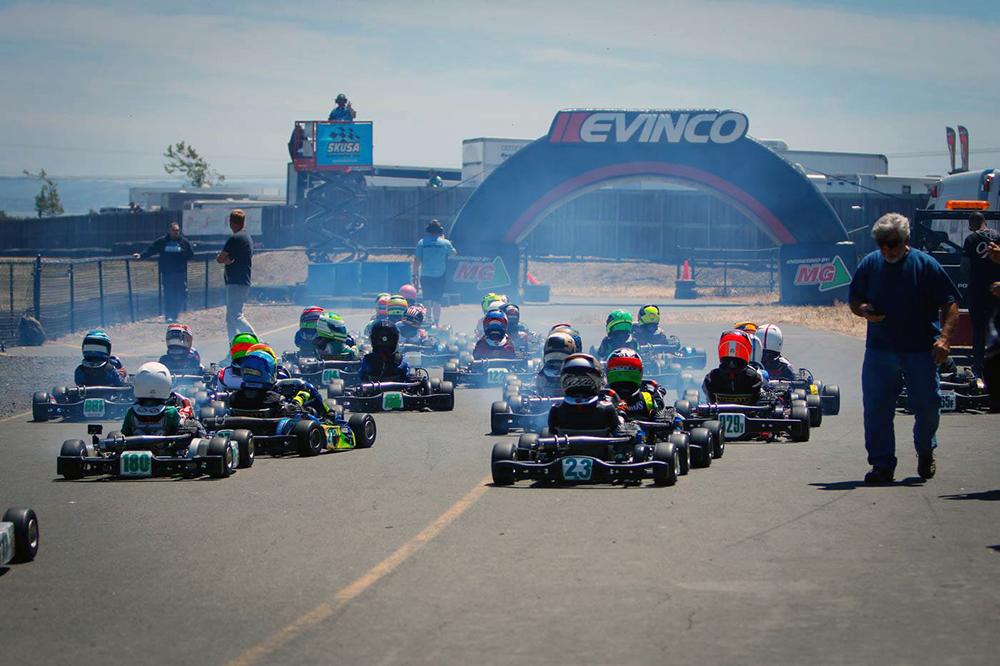 Circuito Superkarts USA Pro Tour teve etapa na Califórnia e utilizou pneus fornecidos pela MG Tires