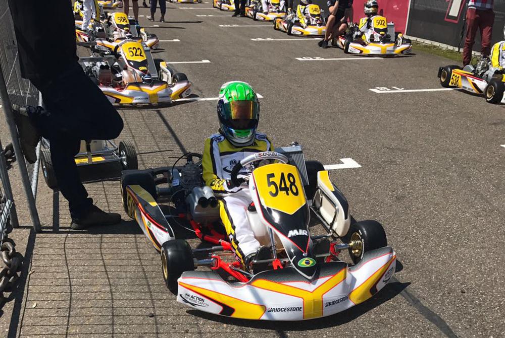 Nicolas Fabris compete na Bélgica e inicia a disputa de seu maior desafio