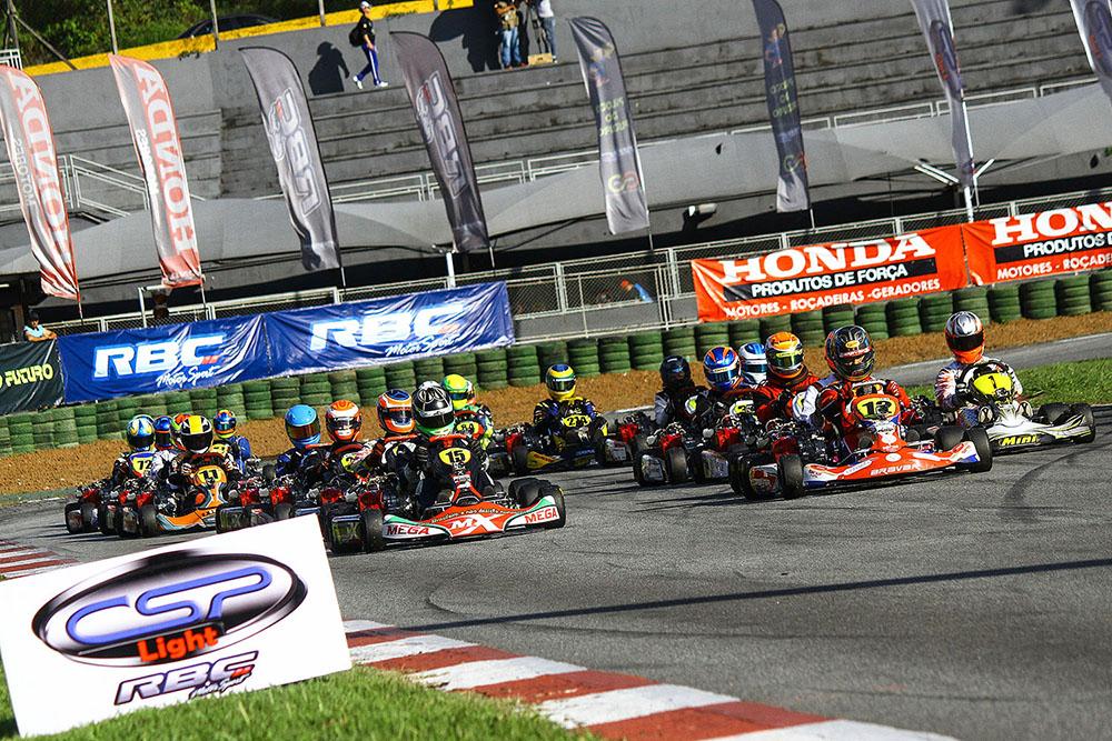 Copa SP Light de Kart reuniu quase 160 pilotos na quarta rodada