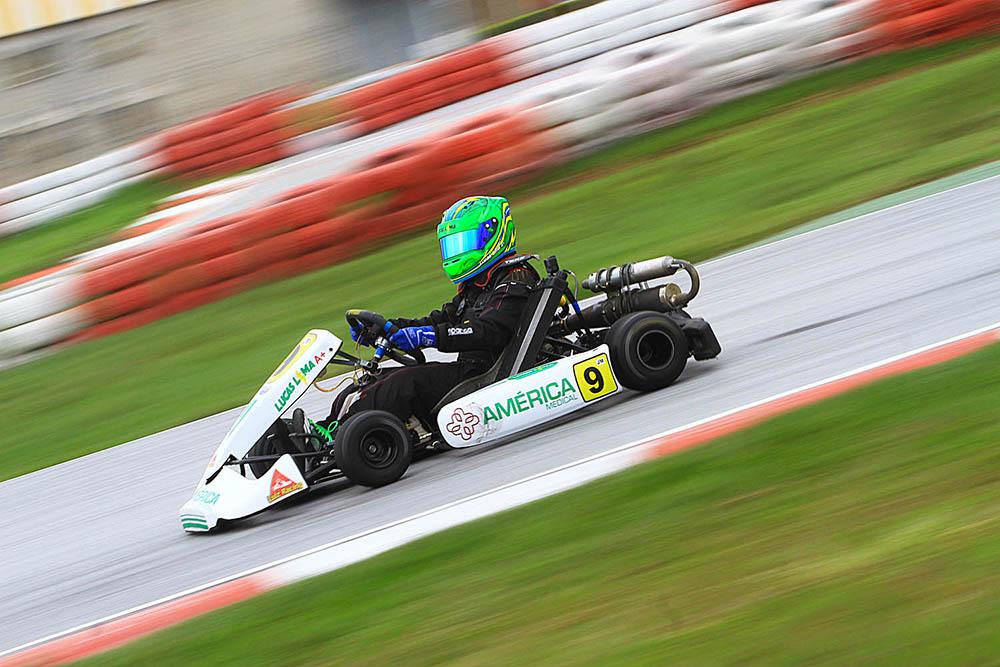 Em período de adaptação, Lucas Limas voltou ao pódio do Mineiro de Kart