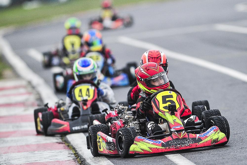 Henrique Magioni disputou a edição 2017 do Paulista de Kart