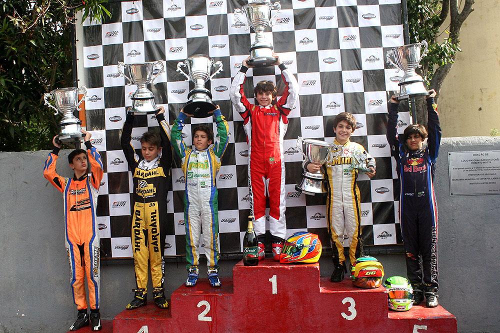 RBC Motorsport comemora o título Paulista de Kart