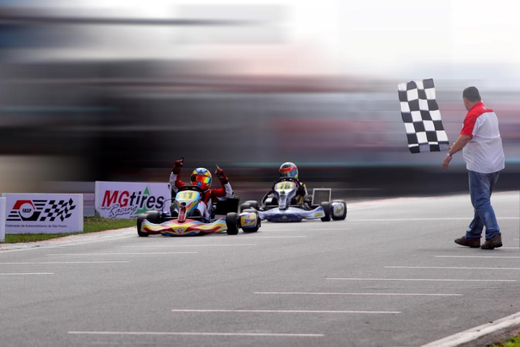 Lucas Staico é Campeão Paulista de Kart 2017