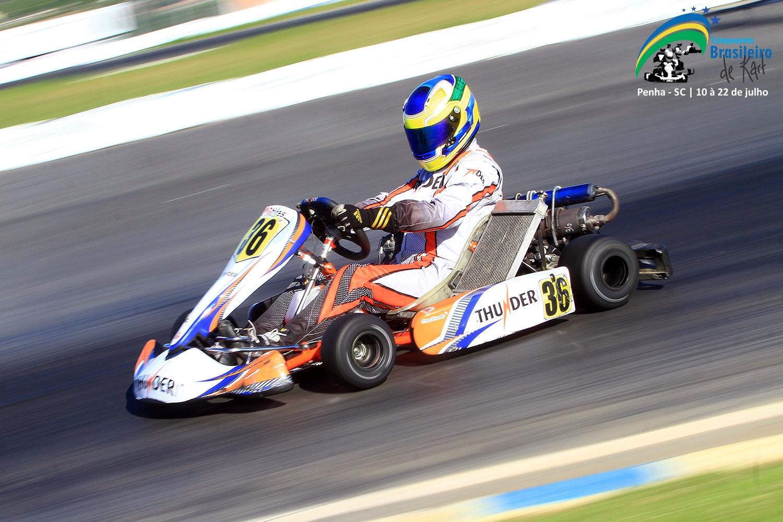 Brasileiro de Kart ultrapassa, em 15 dias, a barreira de 320 inscritos