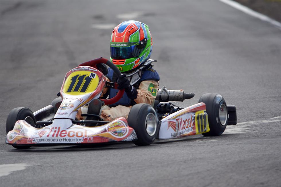 Heitor Dall'Agnol foi 3º na abertura da Copa SPR e se prepara para mais uma rodada do Light