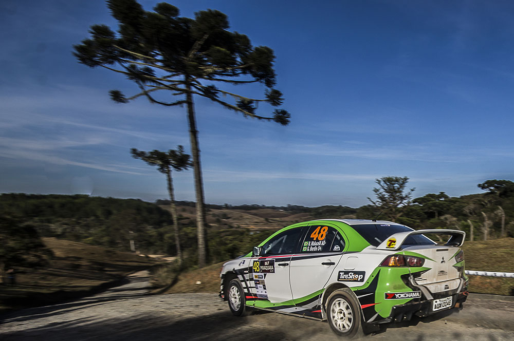 Piraquara é a próxima para do Brasileiro de Rally