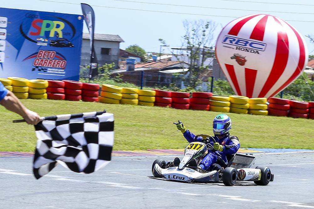 Segunda etapa da Copa SPR de Kart abre inscrições nesta quinta