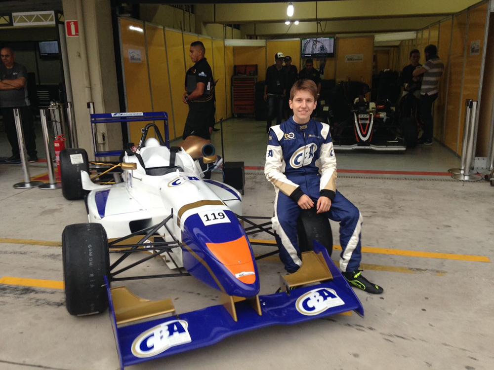 Pedro Goulart busca recuperação na Fórmula 3 Academy no Autódromo Velo Cittá