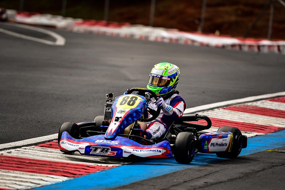 Rafael Câmara parte em busca de mais um pódio na 5ª etapa da Copa São Paulo de Kart KGV