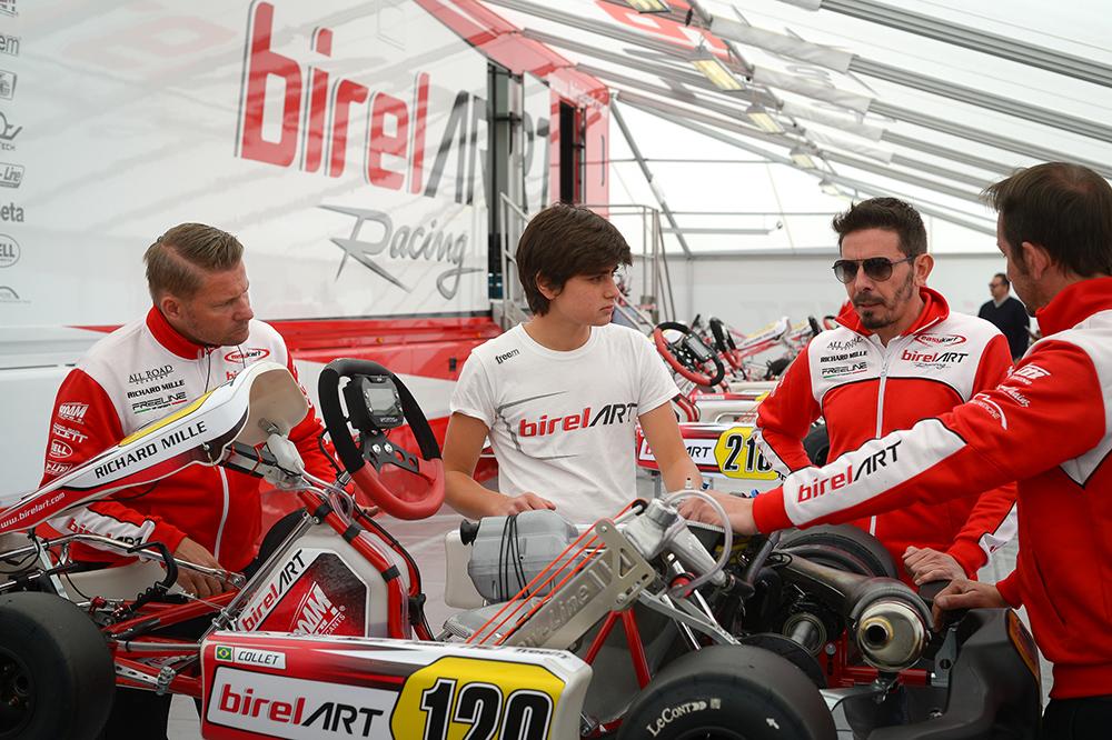 Europeu de Kart: Caio Collet parte para segunda etapa da temporada em pista desconhecida