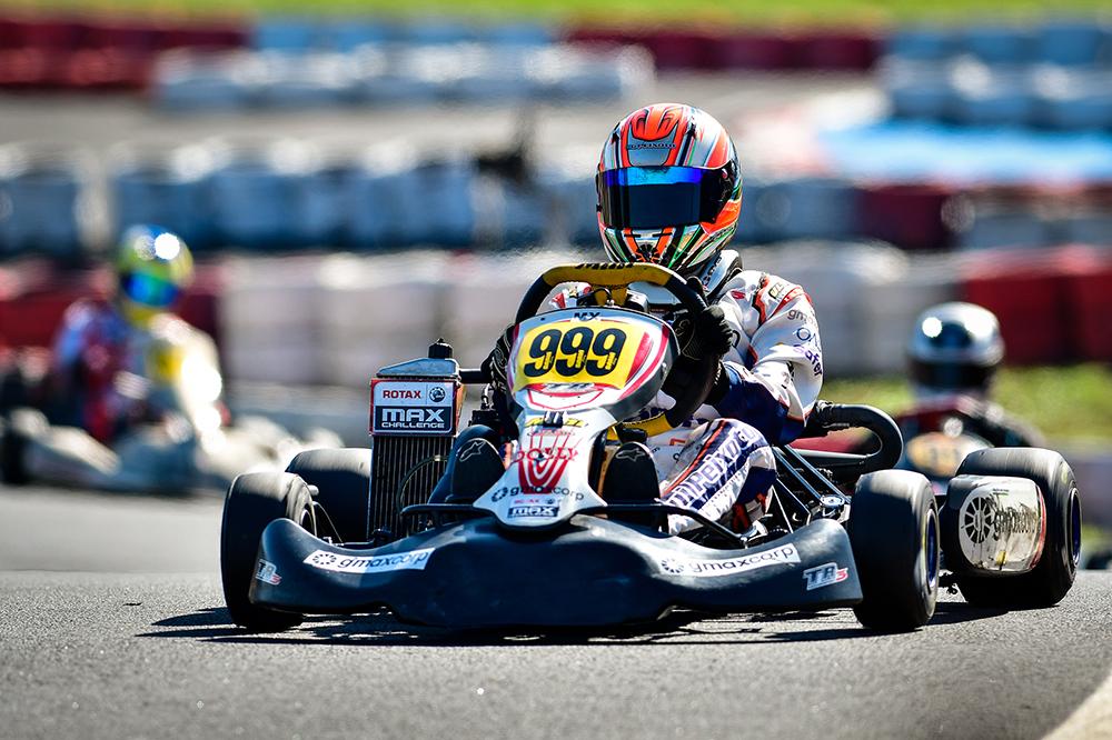 Kart: Guilherme Peixoto conquistou pódio na Rotax Max e continua na luta por vaga no Mundial