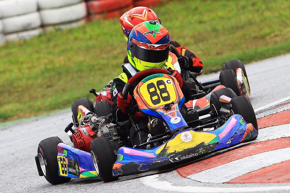 Luca Neuenschwander está de volta à Barueri para a Copa SP Light de Kart