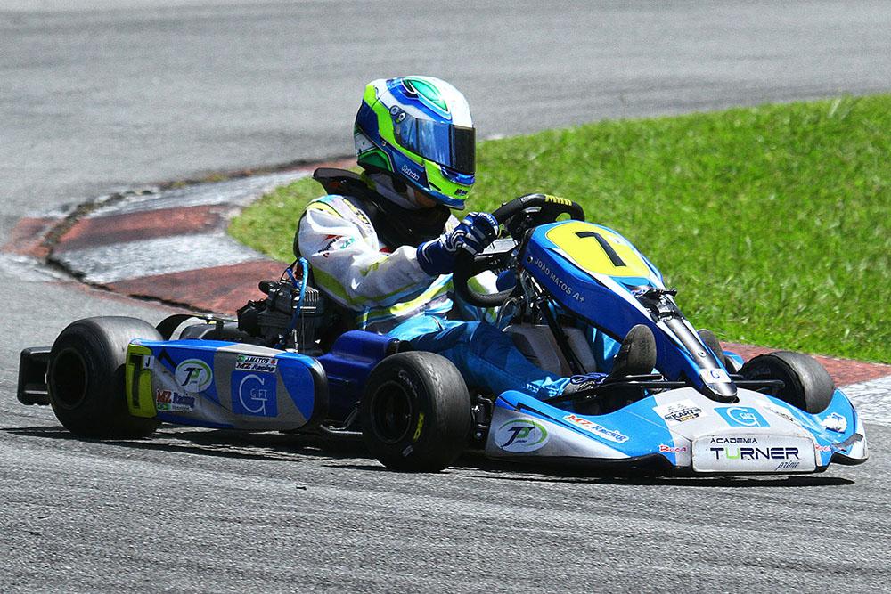 João Matos intensifica preparação para o Brasileiro de Kart