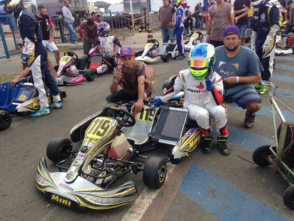 Kart: Pedro Goulart venceu no SPR e otimismo para buscar o bi no Campeonato Brasileiro aumenta