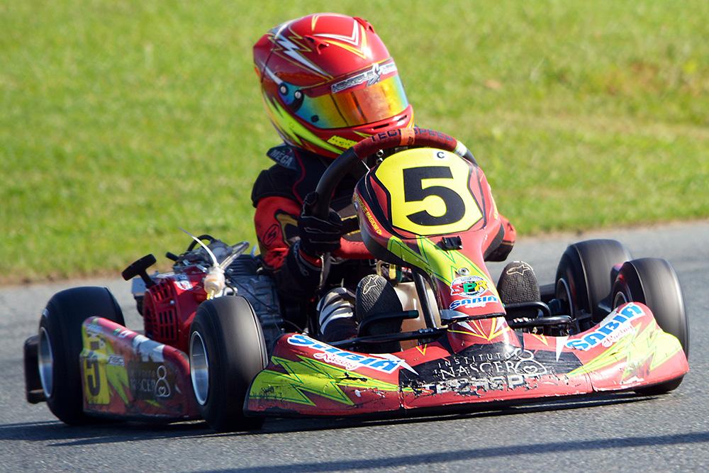 Henrique Magioni conquistou o vice-campeonato no Open do Brasileiro de Kart