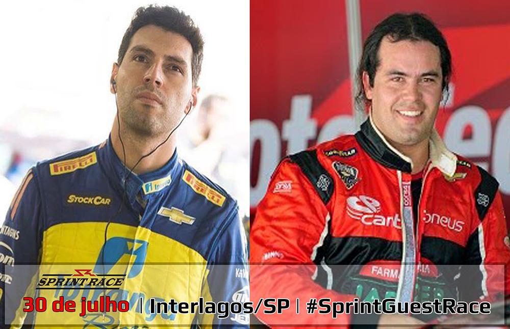 Sprint Race: Galid Osman e Jorge Garcia formam dupla para a Corrida de Convidados
