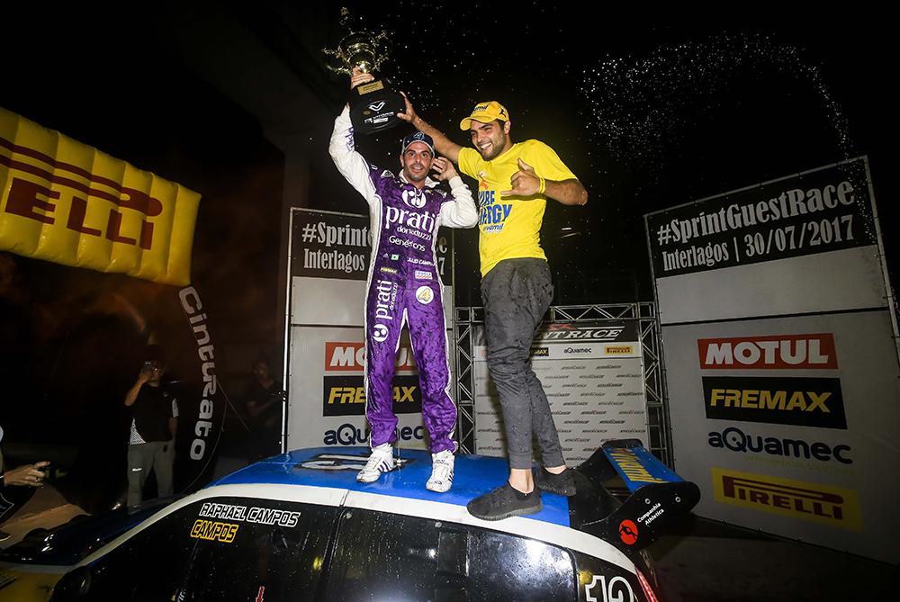 Sprint Guest Race: Pilotos dão show em Interlagos, e vitória fica com Júlio Campos