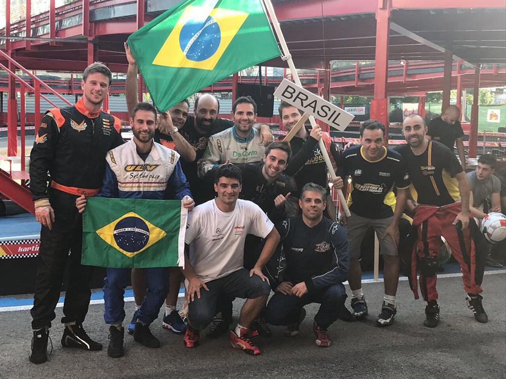 Mundial de Kart: Sena Jr consegue bom resultado no primeiro dia de competição individual