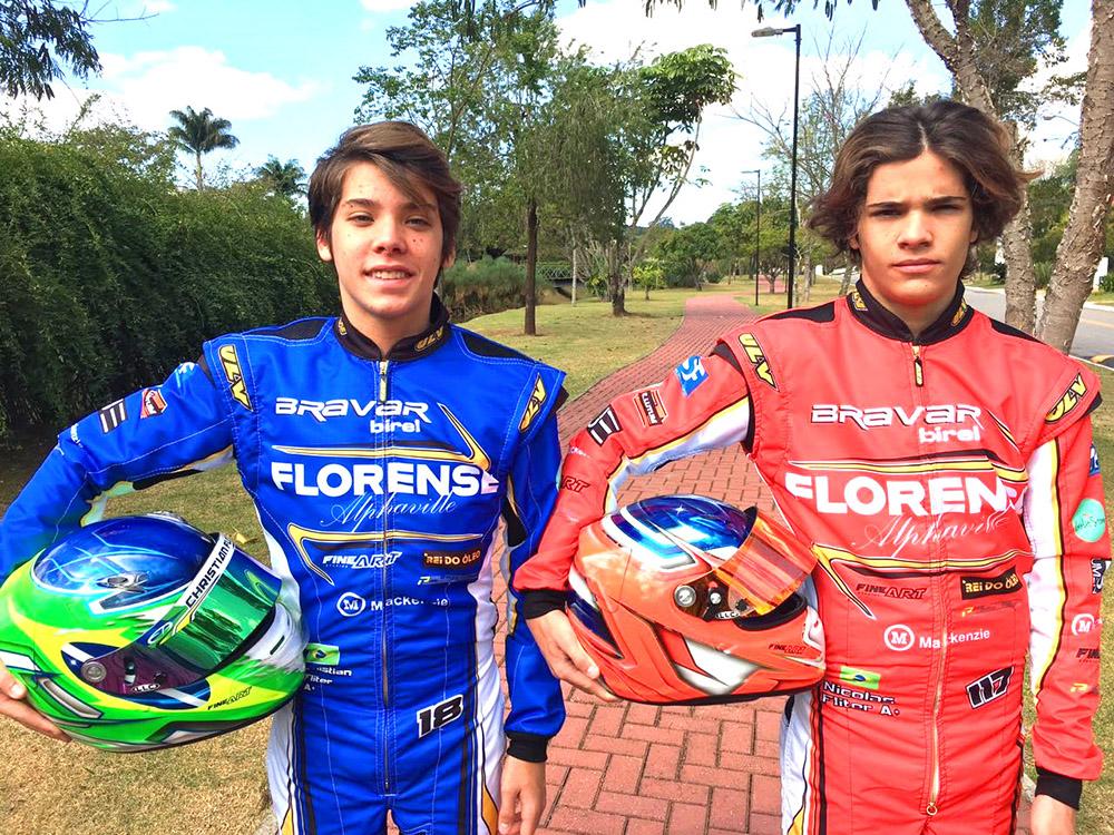 Irmãos Gêmeos Fliter disputam Brasileiro com objetivo na F3 Academy