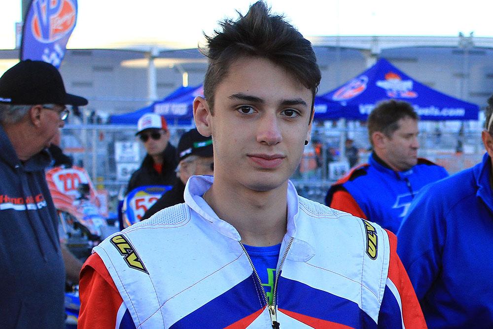 Na categoria Graduado, Gabriel Paturle terminou Brasileiro de Kart em sexto