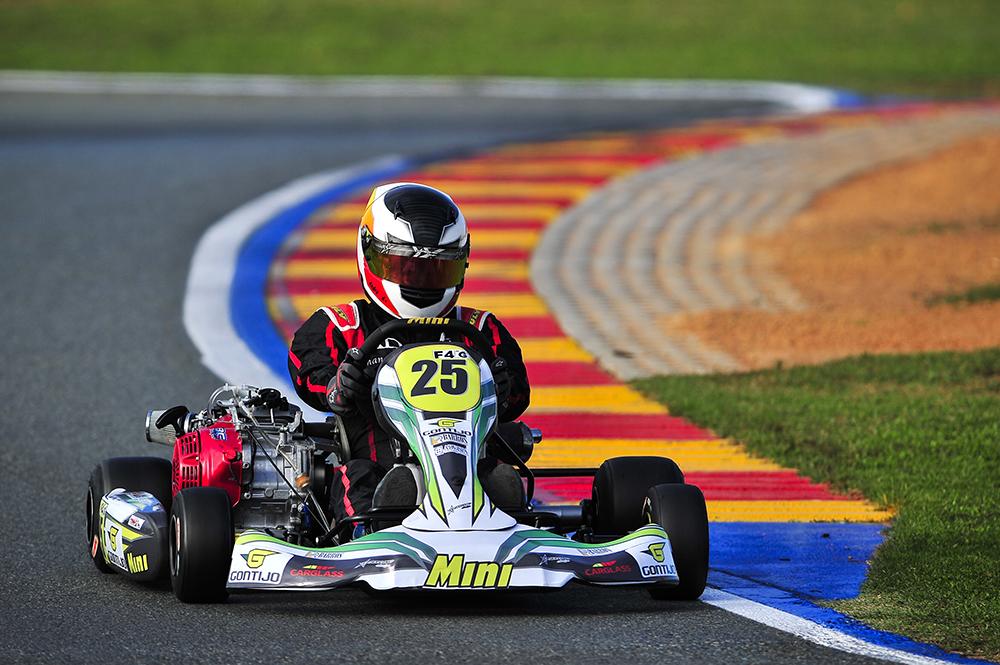 André Novaes levou Minas ao pódio do Brasileiro de Kart