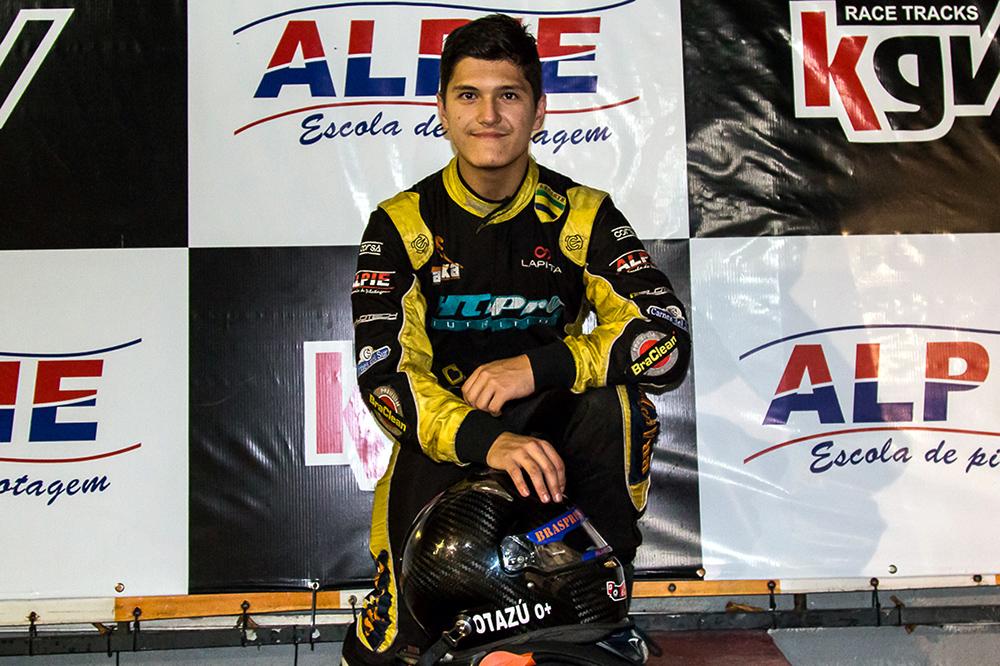 Taça Ayrton Senna de Kart: Alberto Cesar Otazú quer ampliar liderança