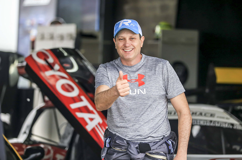 Claudio Buschamann está pronto para o desafio da sexta etapa da Sprint Race 2017