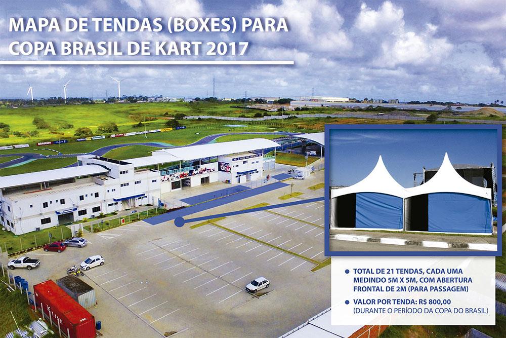 Copa Brasil: Paladino terá pacote especial para locação de tendas
