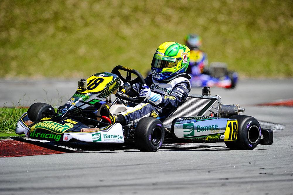 Líder, Gui Figueiredo quer nova vitória na Copa SP Light de Kart