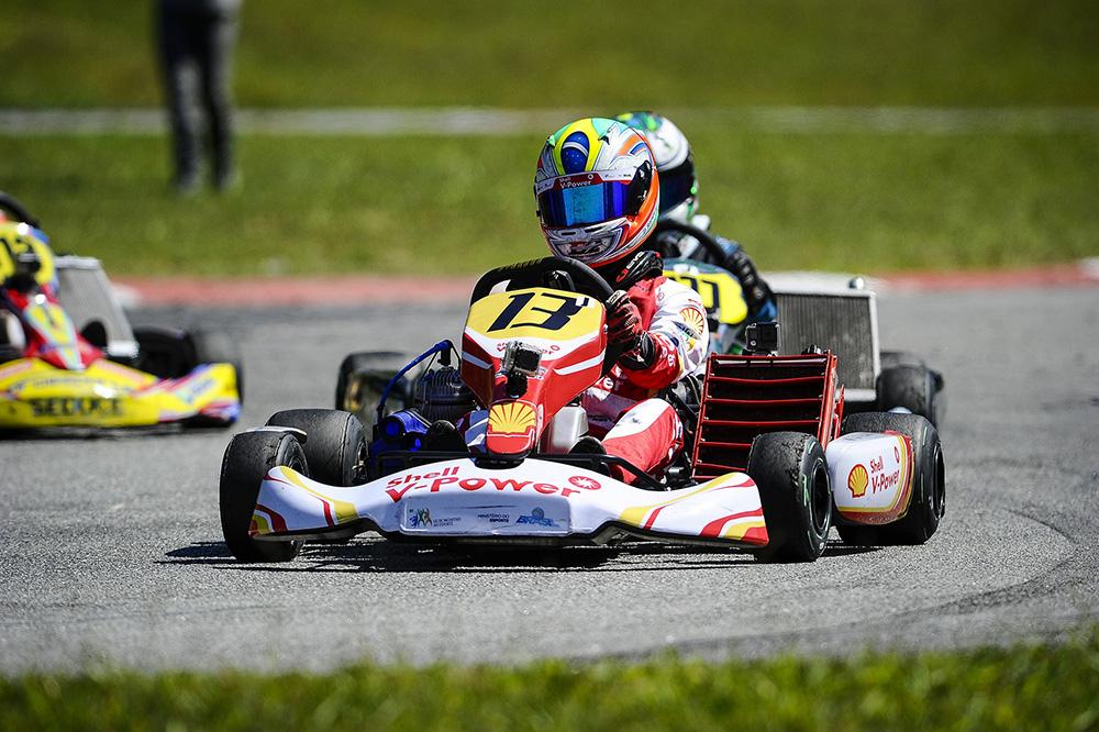 Após dificuldades na última etapa, o piloto da Academia Shell Racing está pronto para se superar na Aldeia da Serra.
