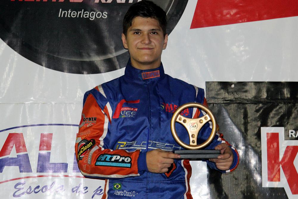 GPCKA: Alberto Cesar Otazú larga da pole e vence penúltima etapa