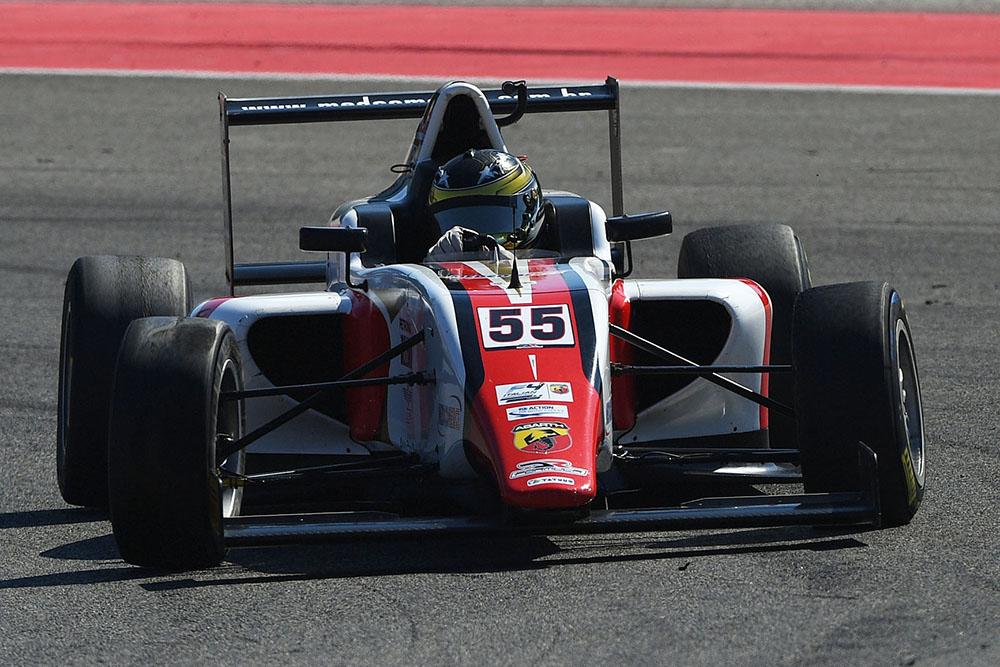 Felipe Branquinho retornou ao pódio da F4 Italiana