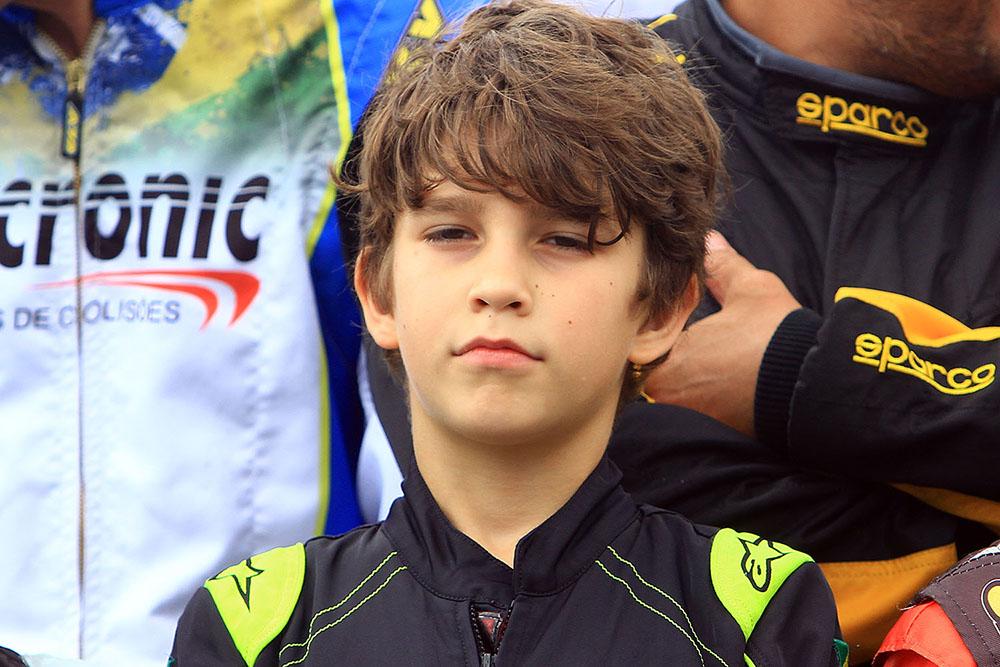 Luca Neuenschwander levou Minas ao pódio da Copa Brasil de Kart