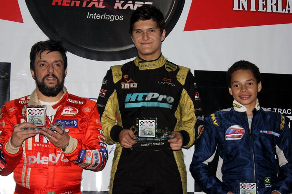 Fórmula Master de Kart: Alberto Cesar Otazú quer a quarta vitória consecutiva