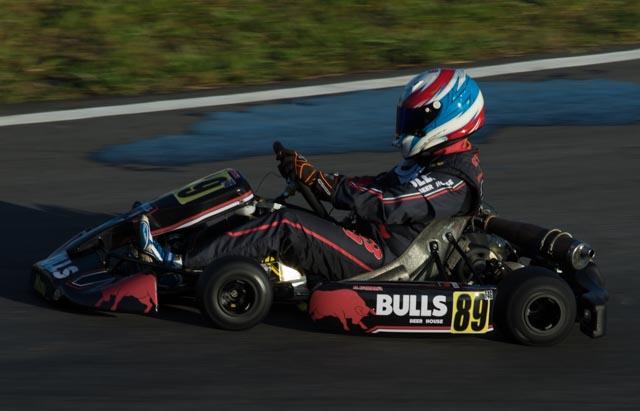 Daniel Barbosa melhora marcas nos treinos da Copa Brasil de Kart